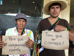 Der Kampf der Kleinbauern für die Anerkennung ihrer Rechte als politische Subjekte