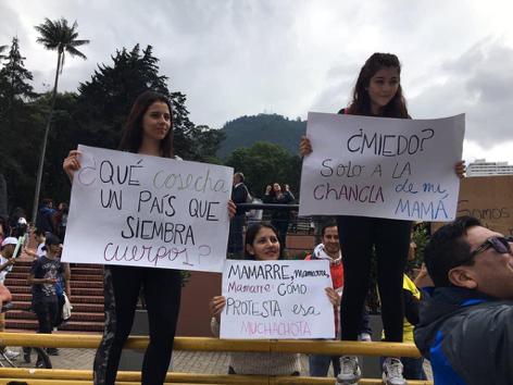Auf Töpfen für soziale Gerechtigkeit  – Beobachtungen vom Nationalstreik