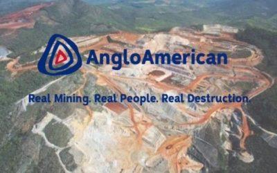 Organizaciones internacionales denuncian al gigante minero Anglo American por sus impactos en América Latina y su respuesta al Covid19