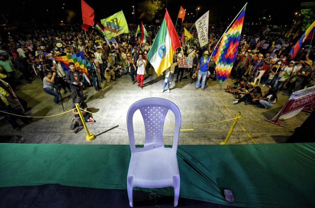 Die Minga Indígena im Zentrum breiter Proteste – Duque kneift