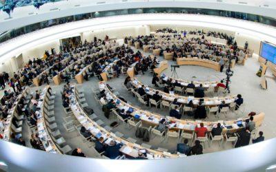 Kritische Sicht der kolumbianischen Zivilgesellschaft versucht sich in Genf Gehör zu verschaffen